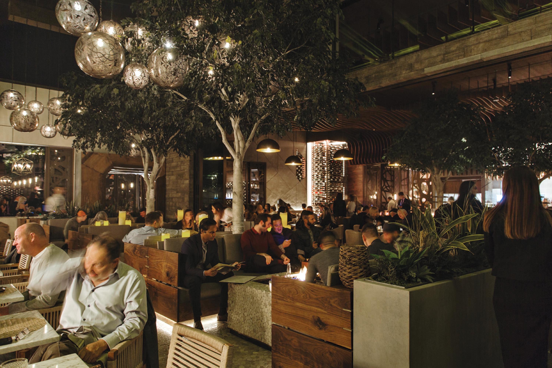 the patio at Toca Madera