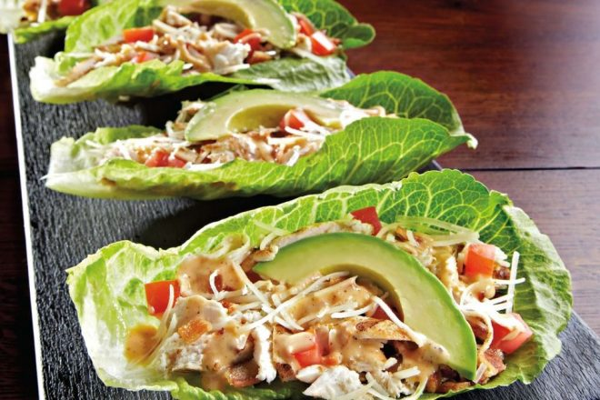Recipe Monday: The Ancho Caesar Lettuce Wraps from Dave & Buster's Tempe Marketplace