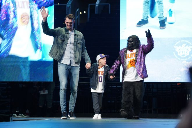 At Suns Charities' Fashion Show, the Kids Are the Stars