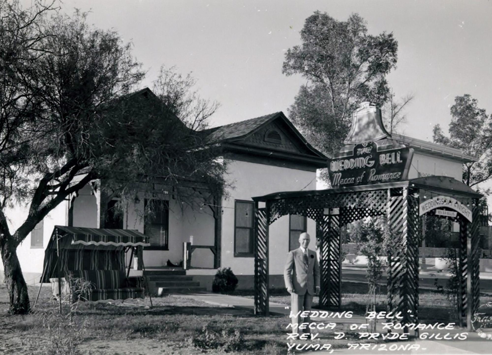 Wedding Bell Chapel, 1930s; Photo courtesy Popular Aviation Magazine