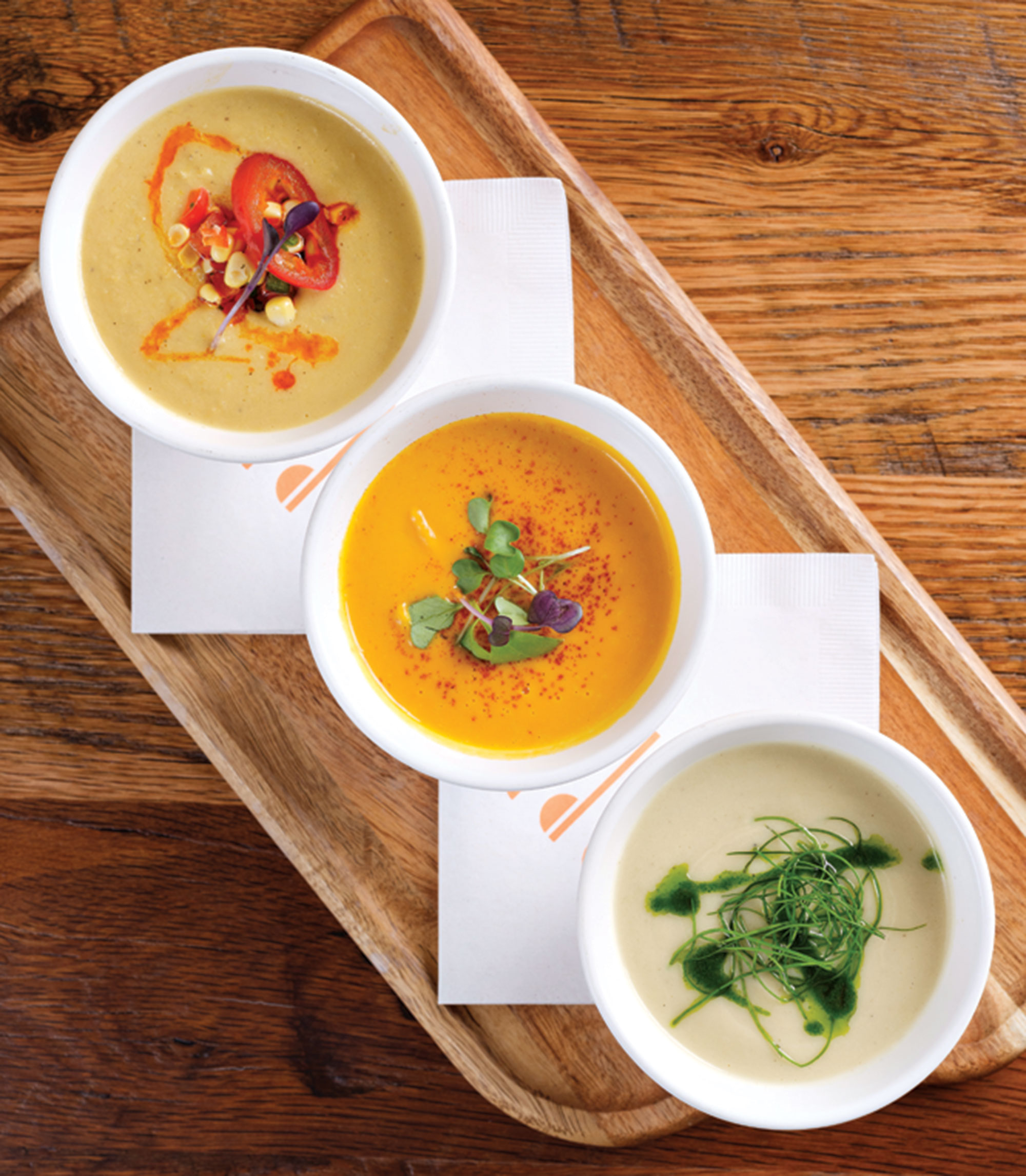 soup flight