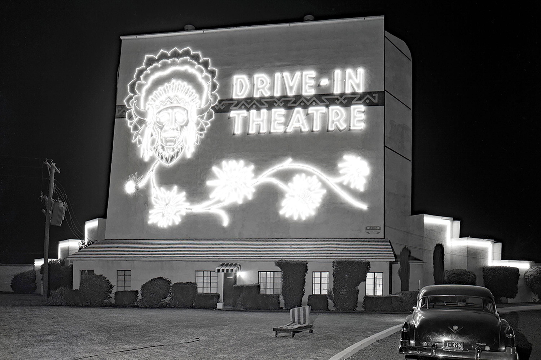 Indian Drive-In Theatre, 1956; Photo courtesy Douglas C. Towne