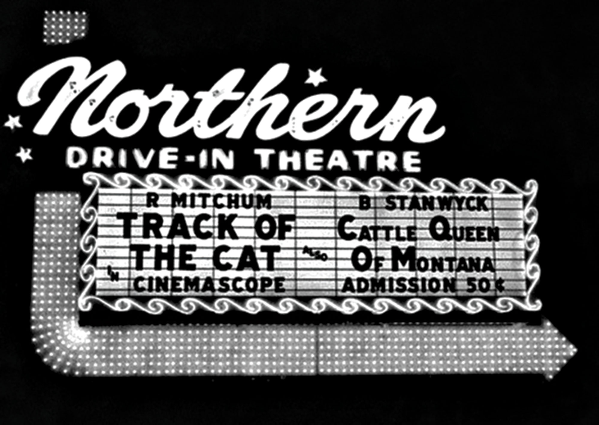 Northern Drive-In, 1955; Photo courtesy Douglas C. Towne