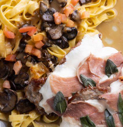 Recipe Friday: The Saltimbocca di Marsala from Salut Kitchen Bar