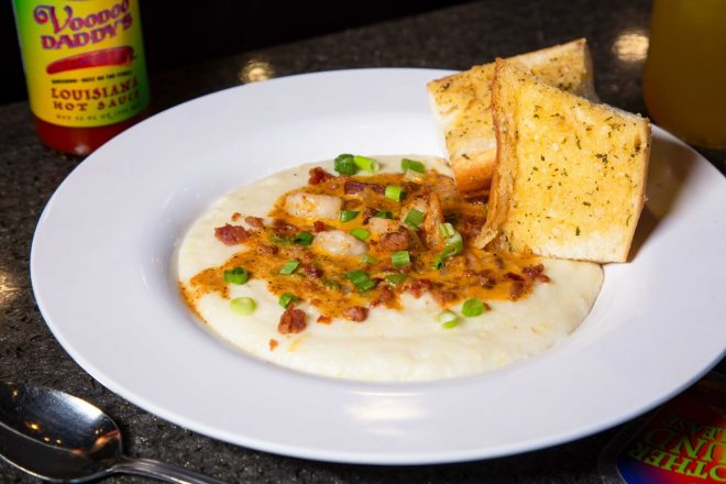 Recipe Friday: The Shrimp and Grits from Voodoo Daddy's Steam Kitchen