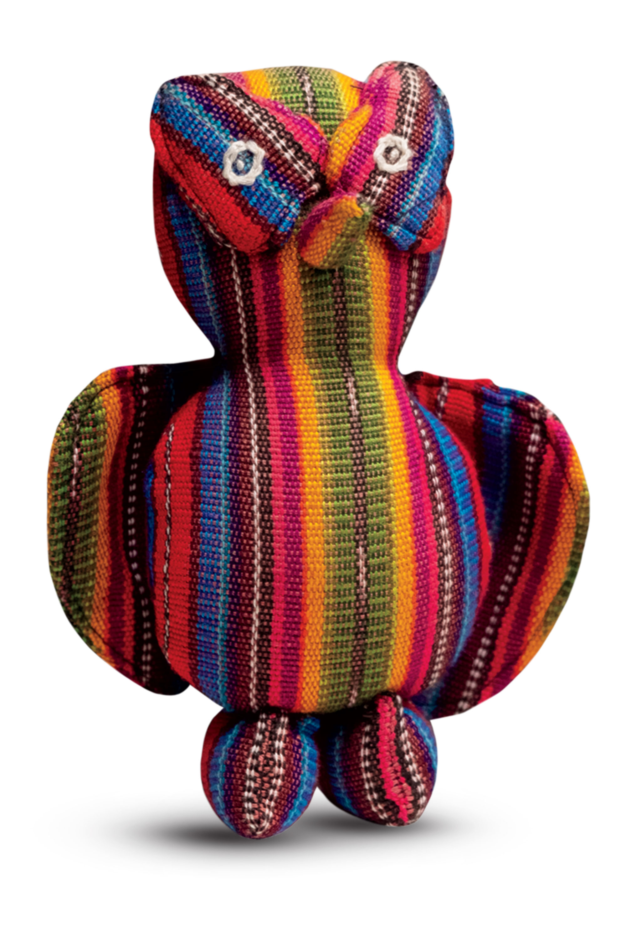 Dr. Lewis Albert Andres was gifted this hand-dyed and woven doll from a Paraguayan family after repairing their child's cleft lip during a 2012 Operation Smile relief trip.