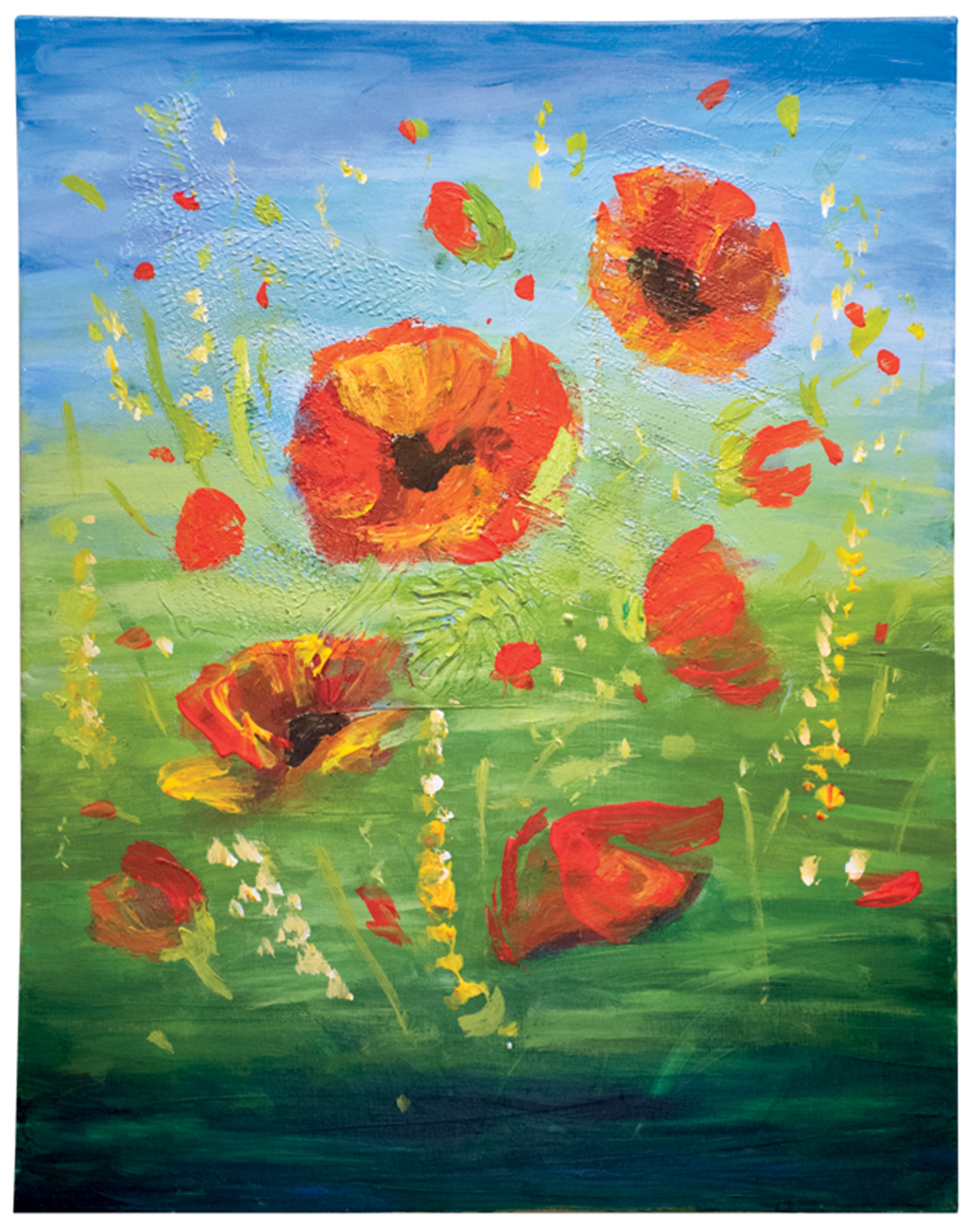 """""""Poppies"""" by Nada Adnon"""