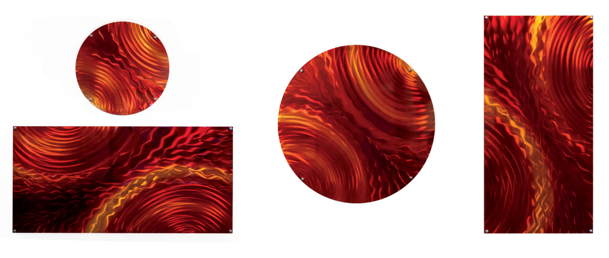 """""""Red Lava Stream"""" with custom pieces"""