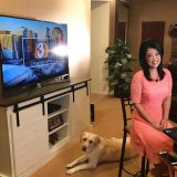 Local TV News People Adjust to Working From Home