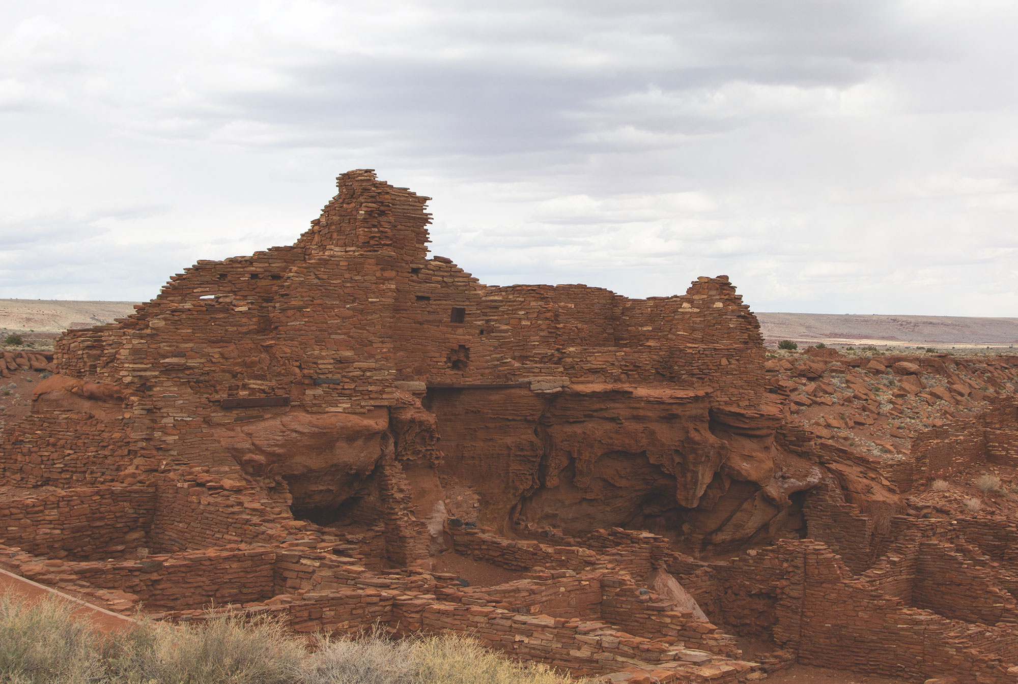 Wupatki National Monument; Photo by Leah LeMoine