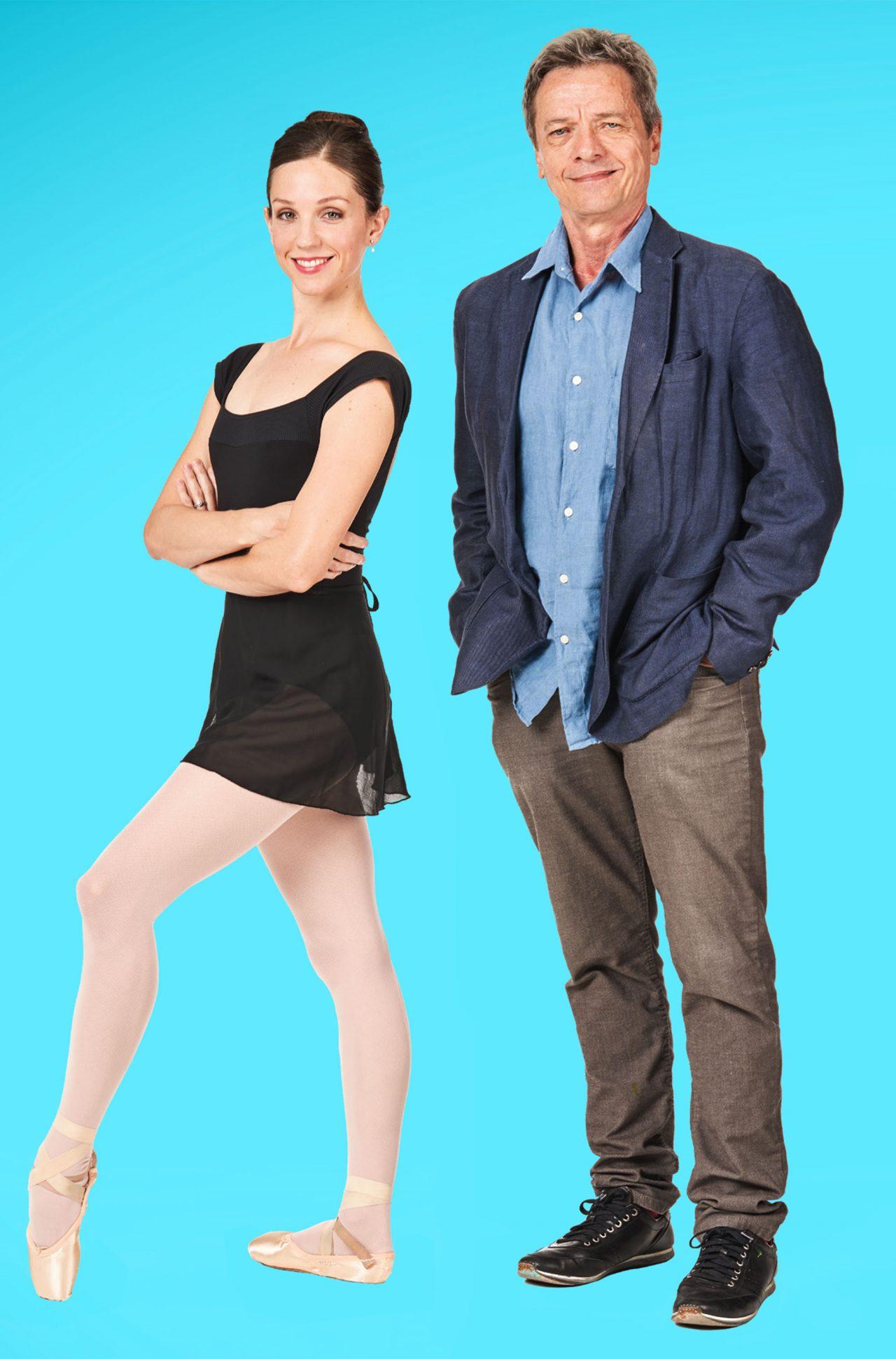 Anderon with Ballet Arizona Dancer Jillian Barrell