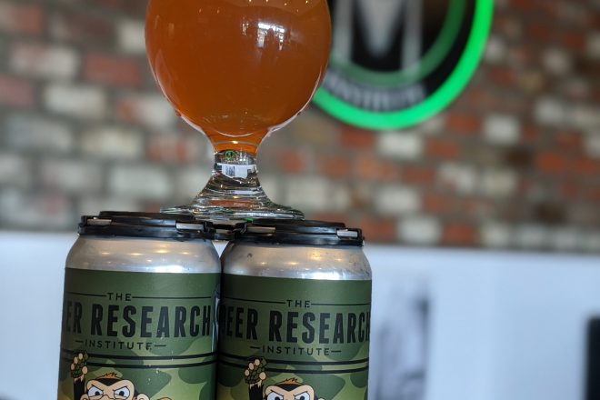 Beer of the Month: Top Secret Battle Monkey from The Beer Research Institute
