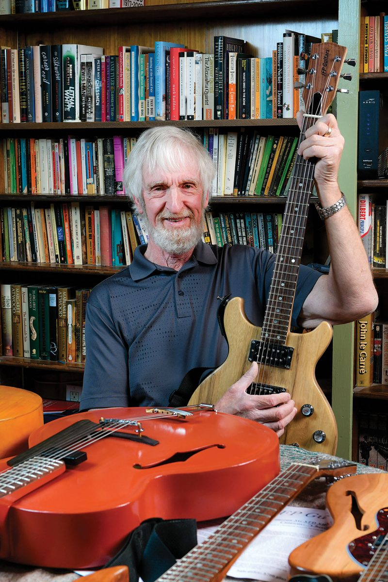 Spotlight: Guitar Maker John Purchase