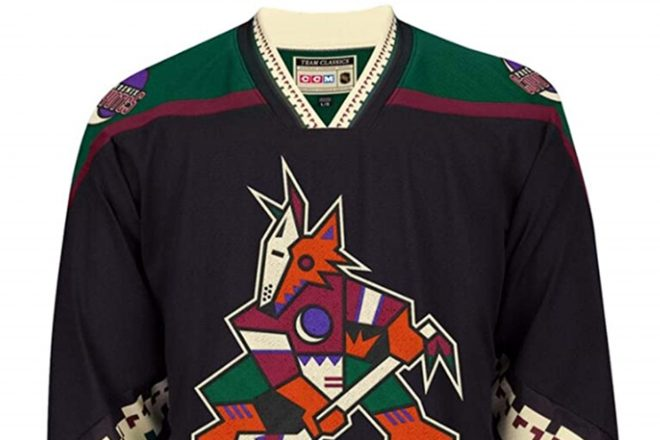 Yes, It's Perfectly Fine to Wear a Coyotes Hockey Sweater in August