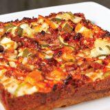 Three Bites: Rectangular Pizza
