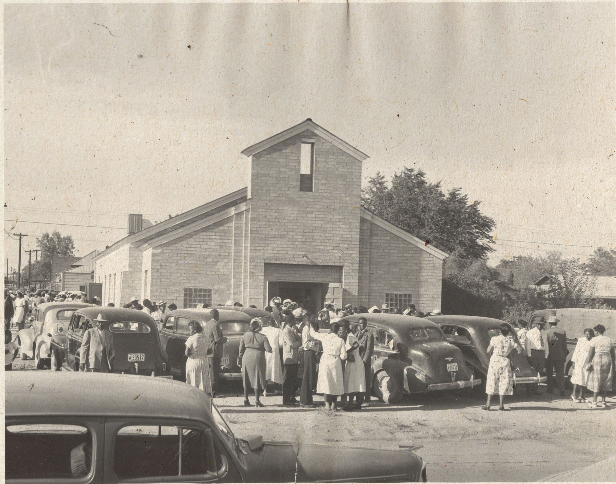 Church of God in Christ dedication in Downtown Phoenix; Photo courtesy City of Phoenix Historic Preservation Office
