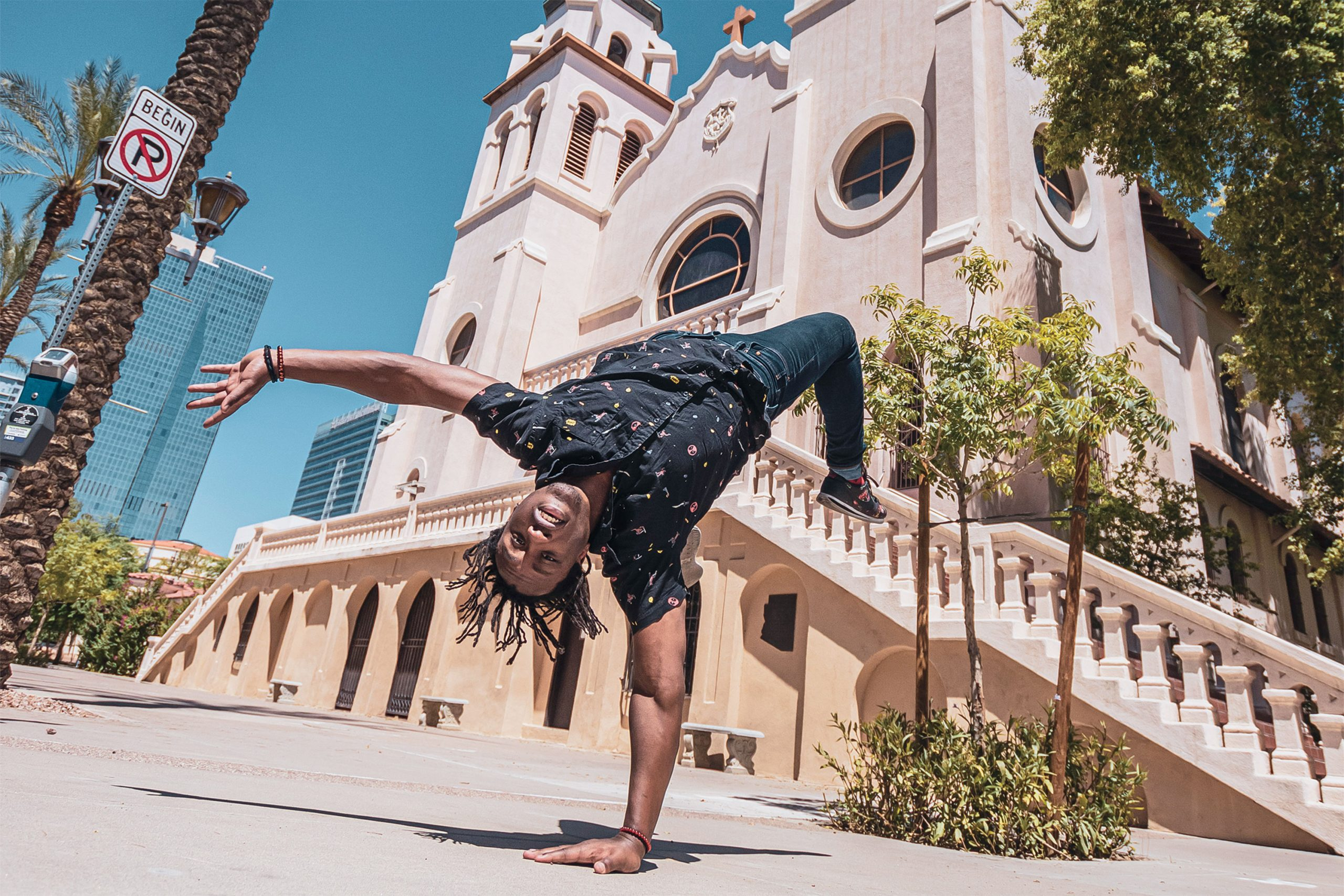 St. Mary's Basilica; Photo by Danny Upshaw; model: Ryan Evans