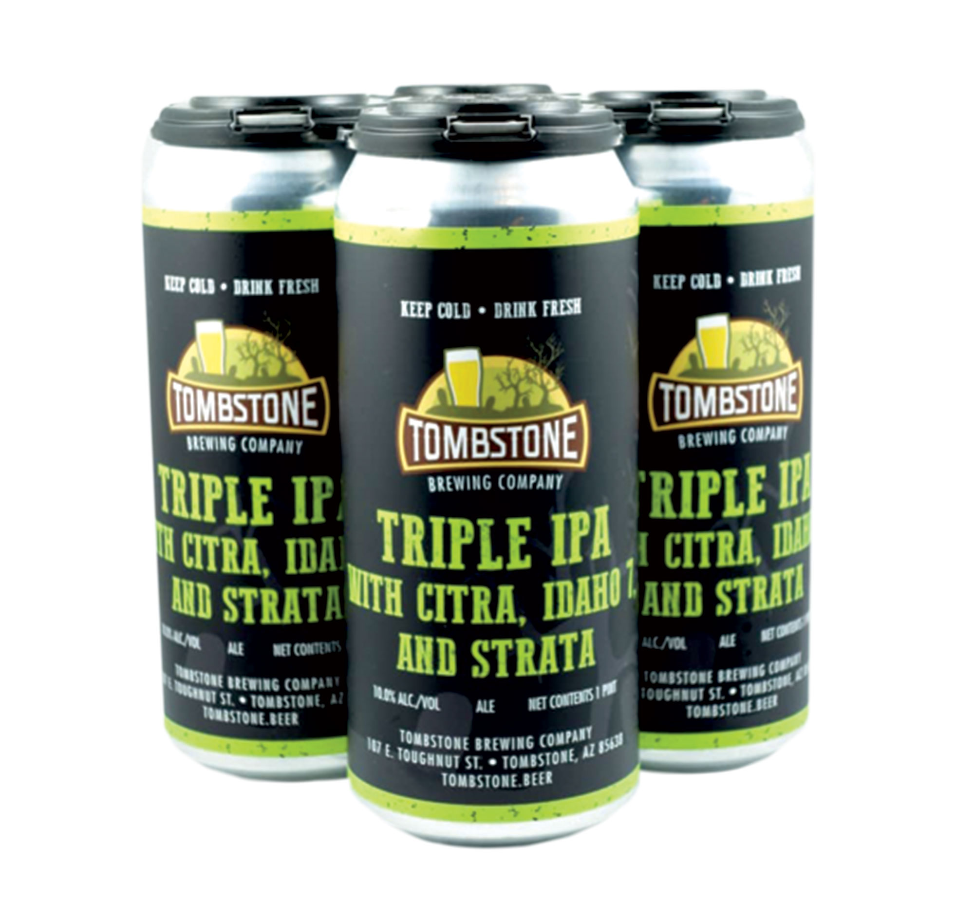Photo courtesy Tombstobe Brewing Co.