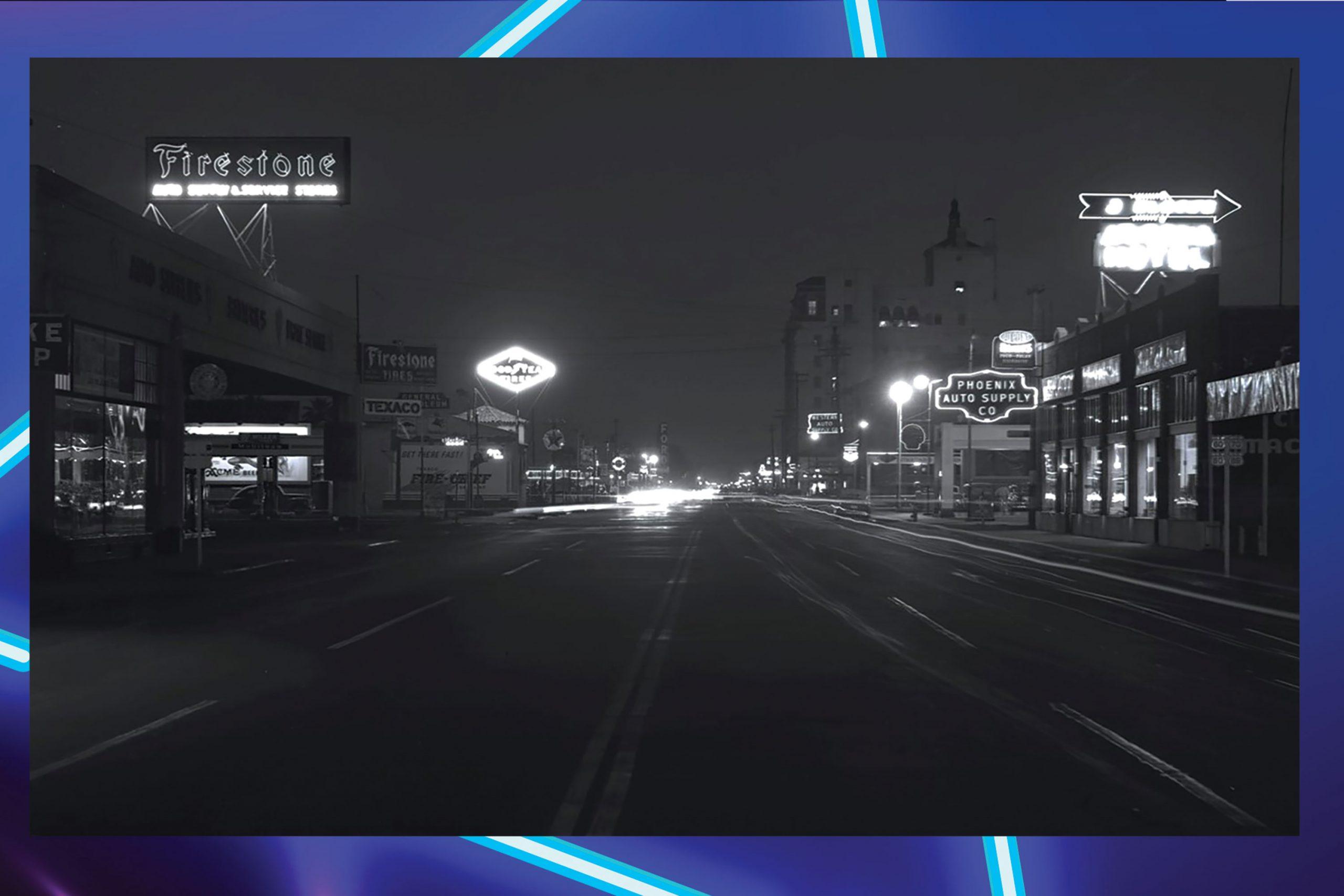 Van Buren Street looking east from Fifth Avenue, 1940s; Photo courtesy Library of Congress