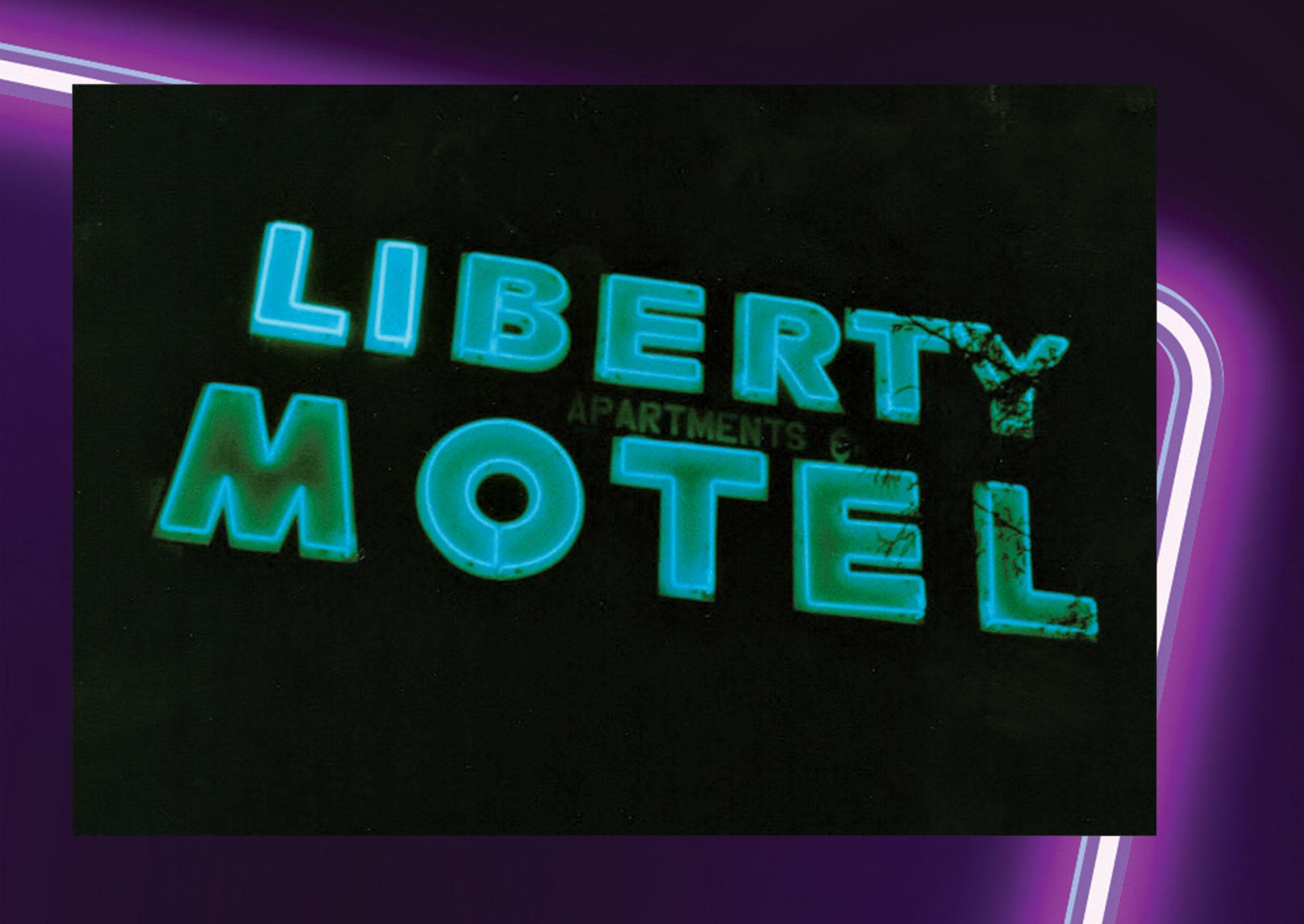 Liberty Motel, 1911 E. Van Buren St., 1991; Photo courtesy Douglas Towne