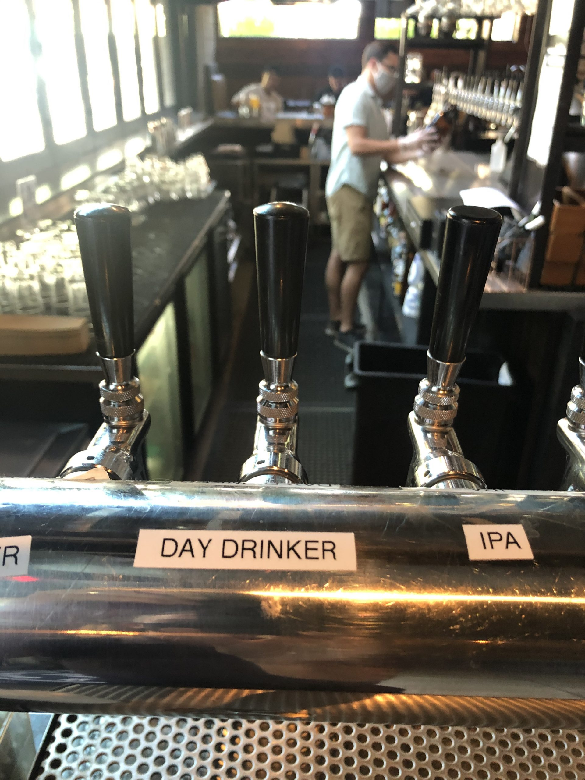 Pedal Haus has 10-16 rotating beers on tap in Tempe