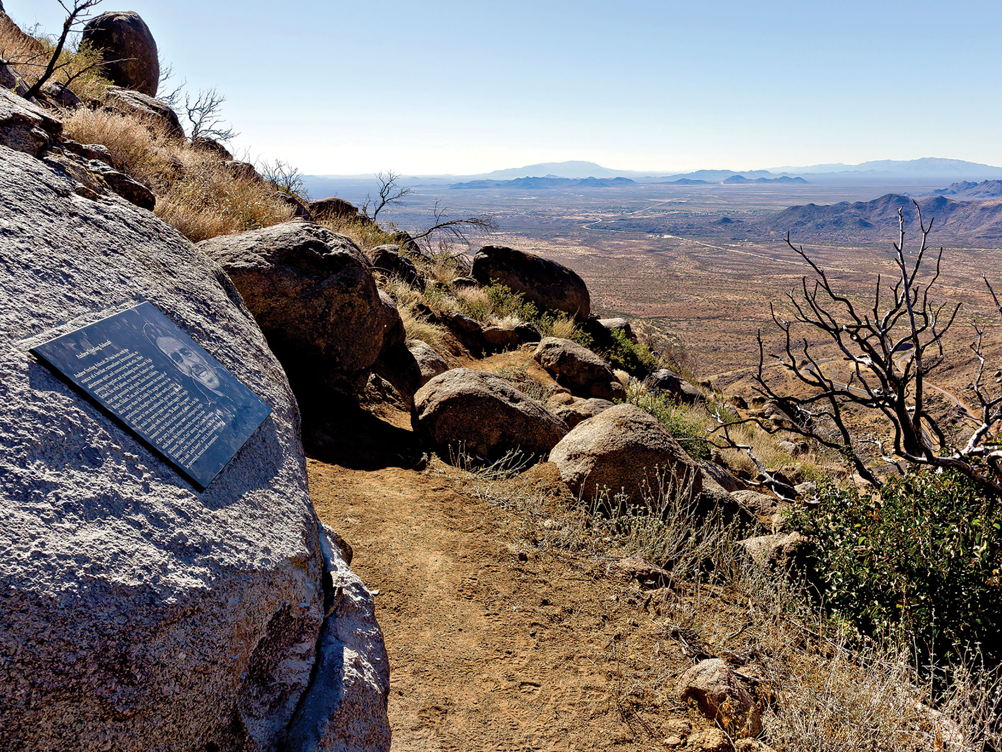 Granite Mountain Hotshots Memorial State Park; Photo courtesy Arizona State Parks & Trails