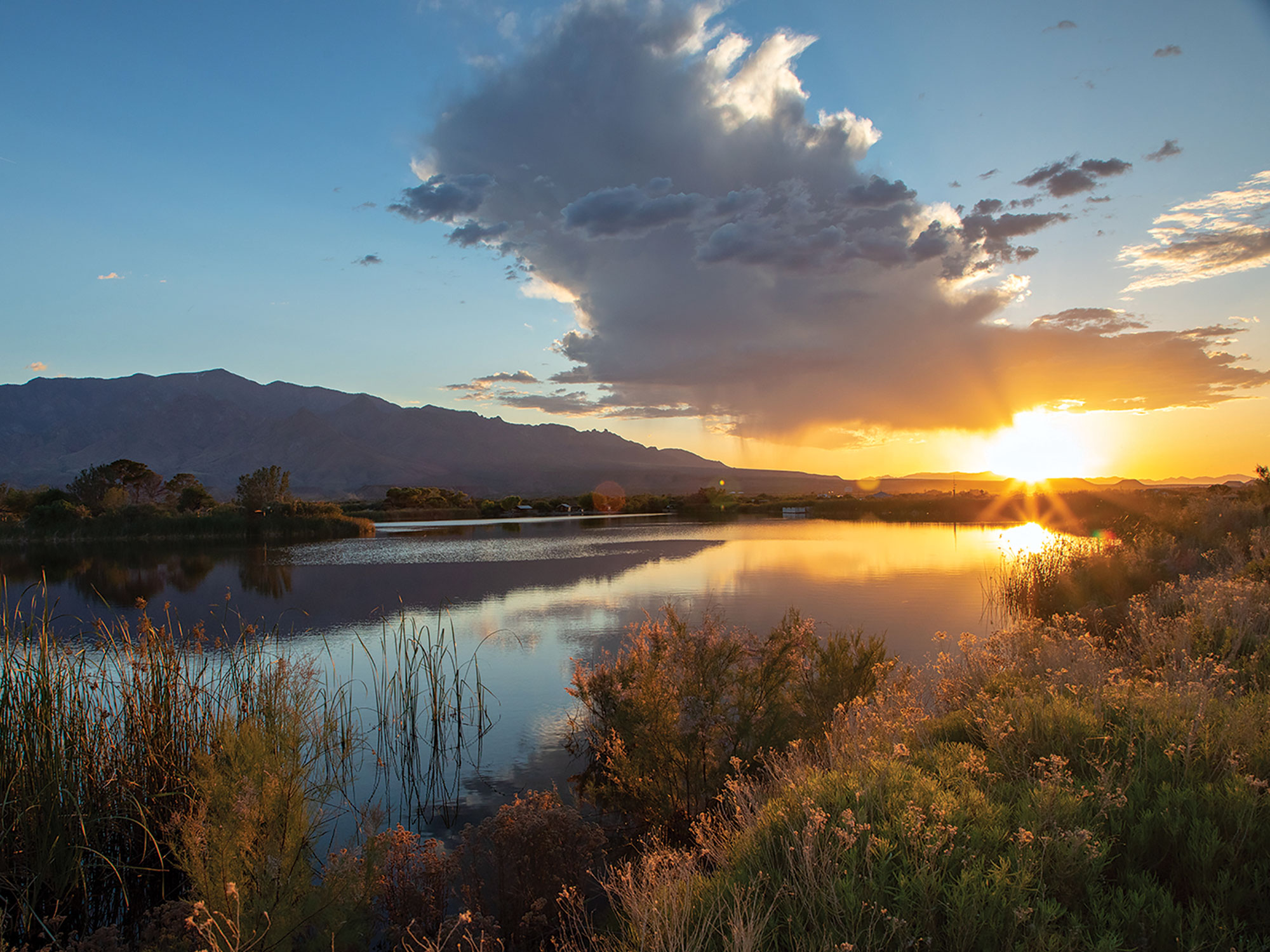 Roper Lake State Park; Photo Courtesy Arizona State Parks & Trails
