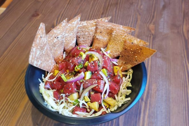 At-Home How-To: Poke Nachos from Ahipoki Bowl
