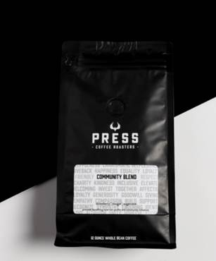 Press Coffee Debuts Community Blend to Benefit Local Nonprofits