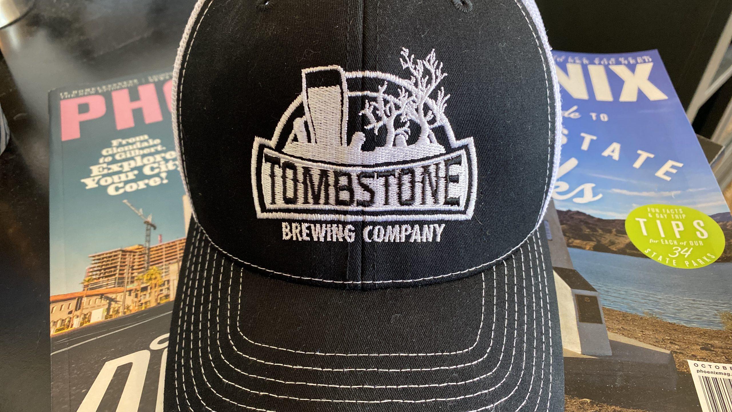 Hat from Tombstone Brewing Co. - photo by Matthew Johnson/PHOENIX magazine
