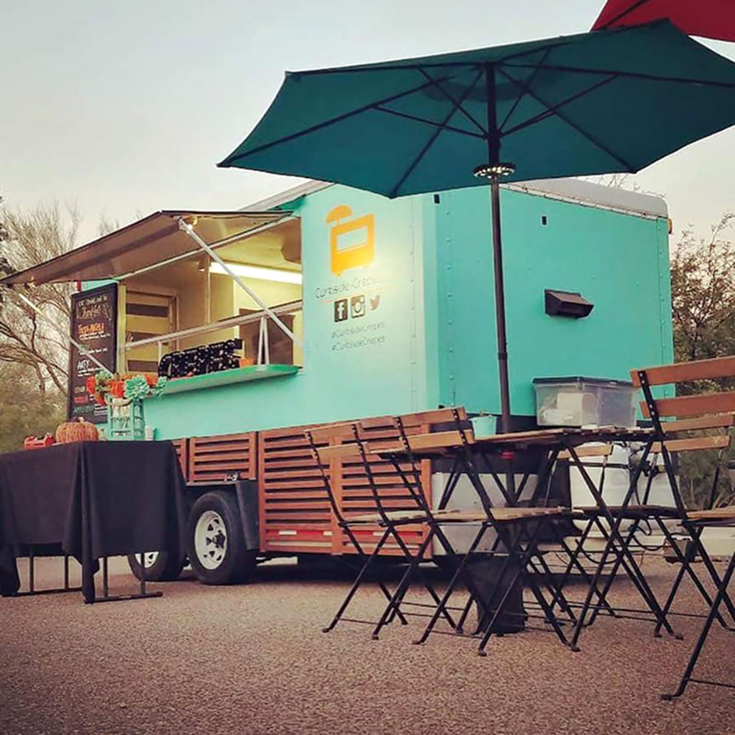 Curbside Crepes at Mesa Feastival Forest; Photo courtesy Curbside Crepes