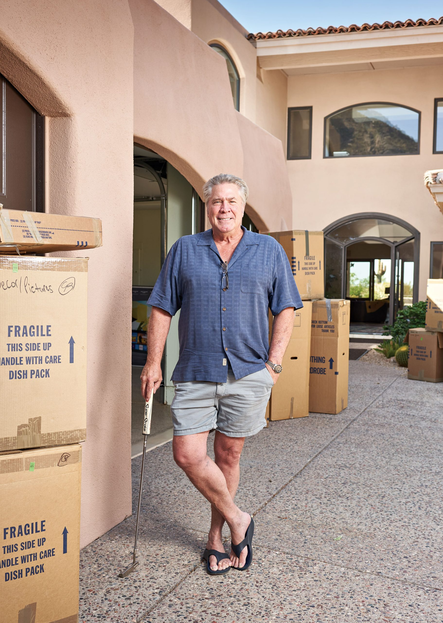 Undeterred by record Valley home prices, developer Kris Eric Pigman fled California this summer for Scottsdale.; Photo by Camerawerks