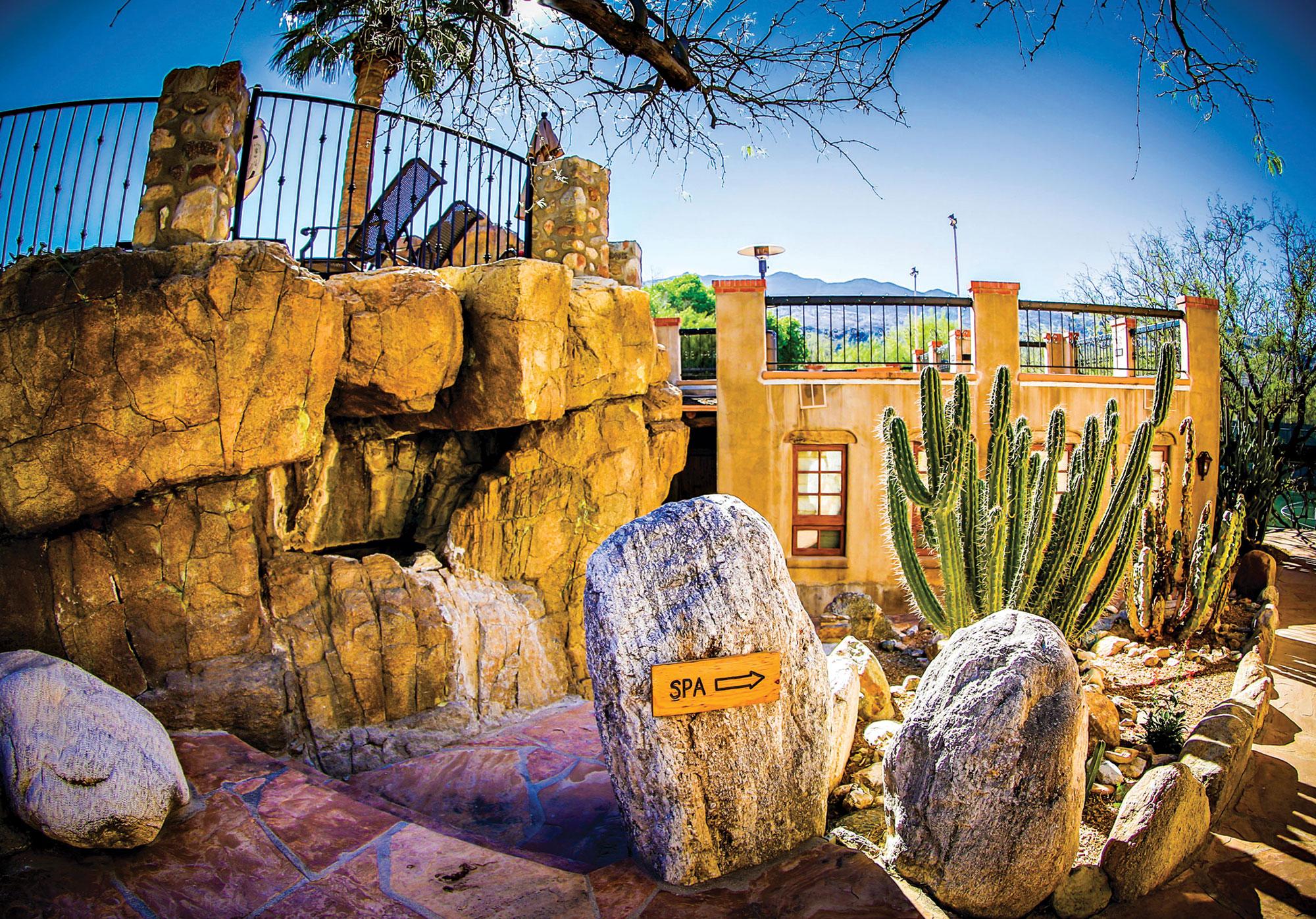 La Sonora Spa exterior; Photo courtesy Tanque Verde Ranch