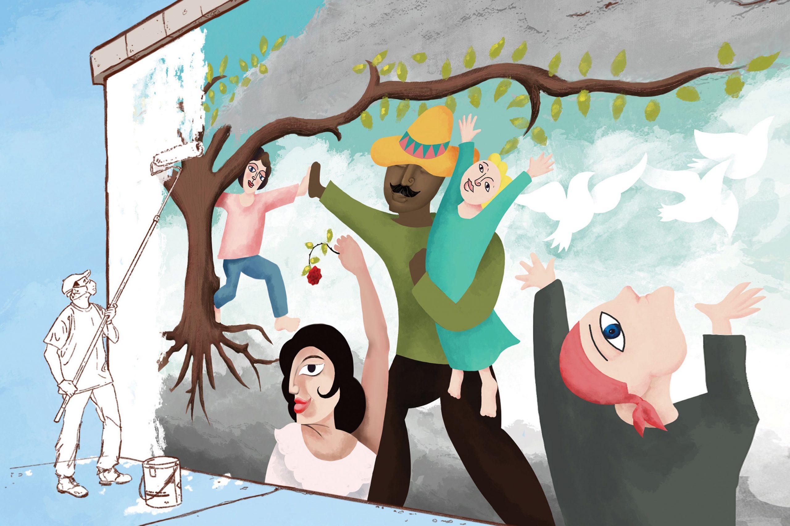 Illustration by Cedric Cummings