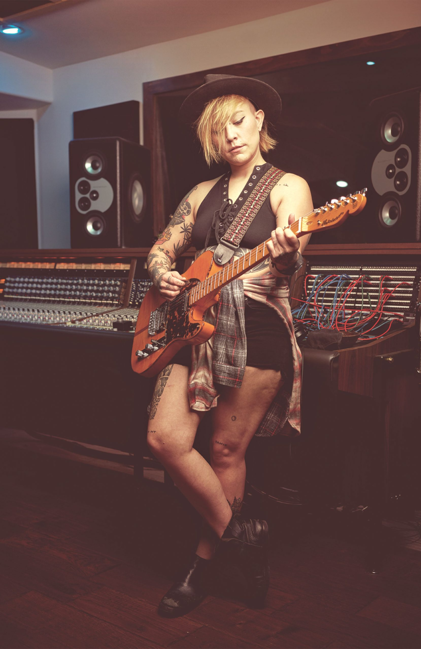 Chelsey Louise at Highland Recording Studio; Photo by Camerawerks