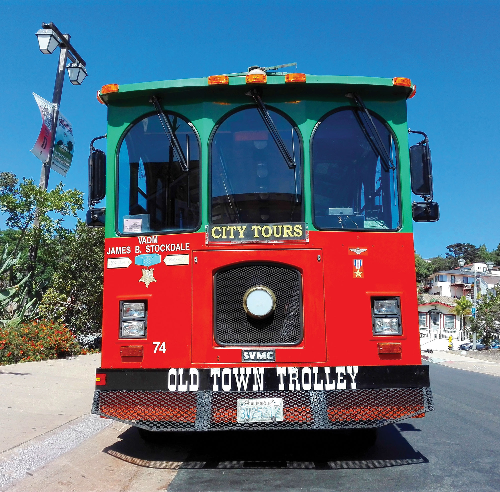 Old Town Trolley Tour; Photo courtesy Adobe Stock Images