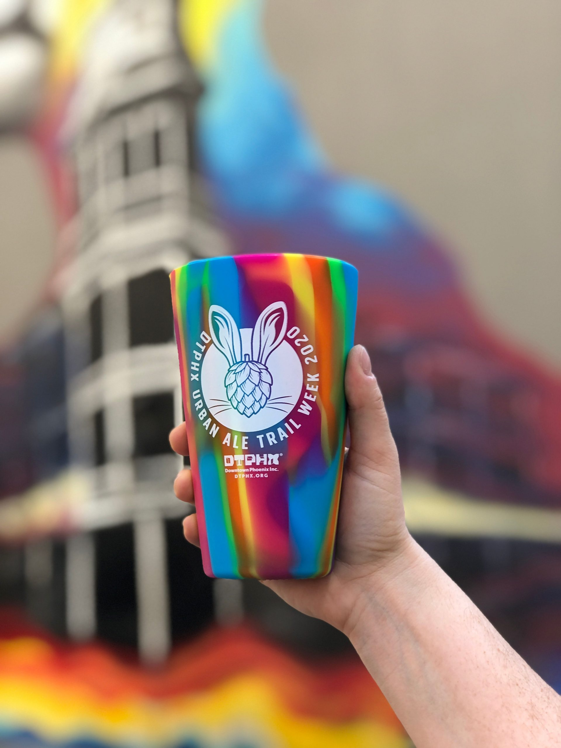 Urban Ale Trail cup free with $25 purchase. Photo courtesy Downtown Phoenix