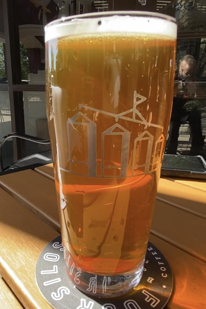 Sun Sipa IPA from Four Silos Brewery.