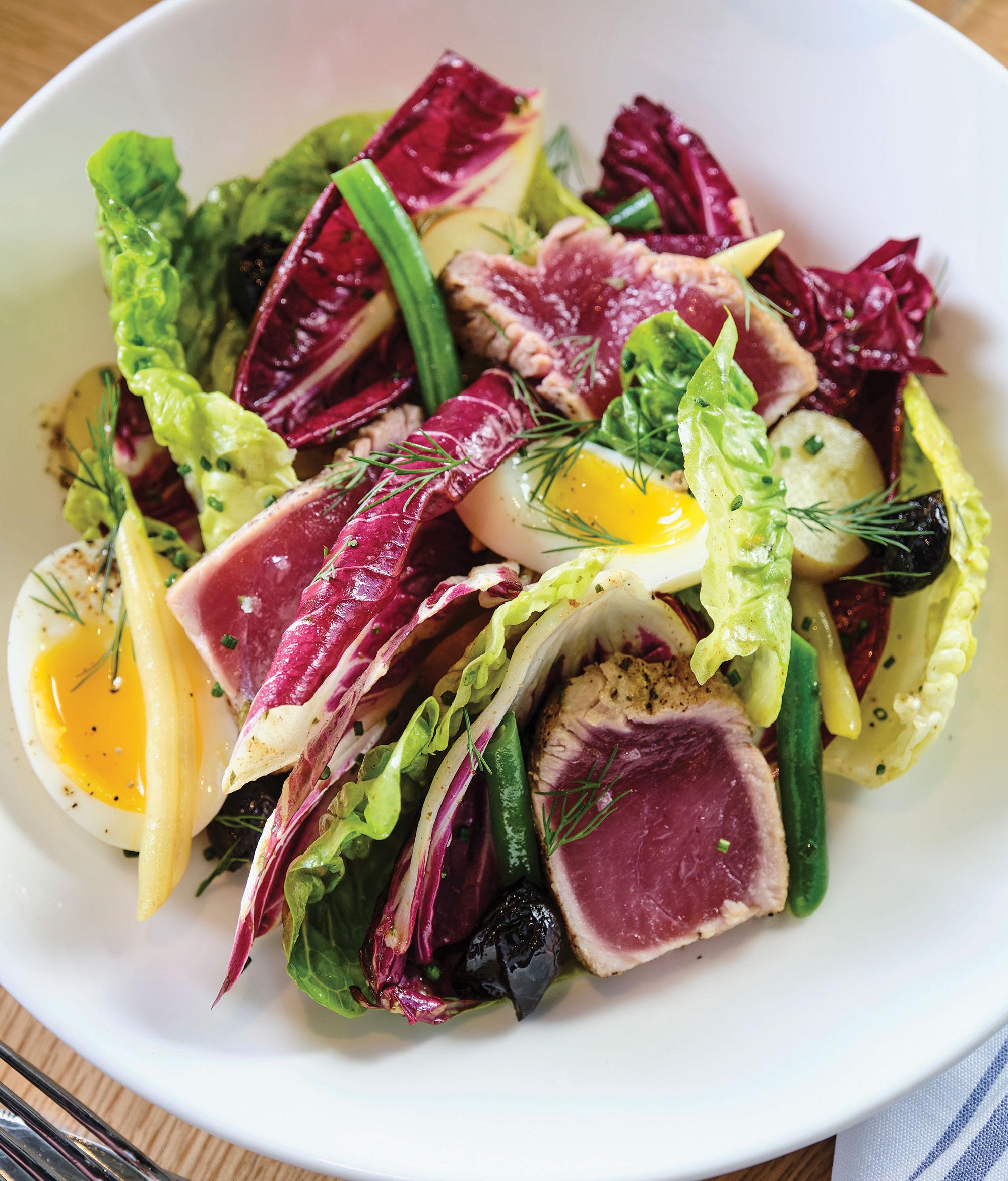 Salade Niçoise; Photography by Kyle Ledeboer