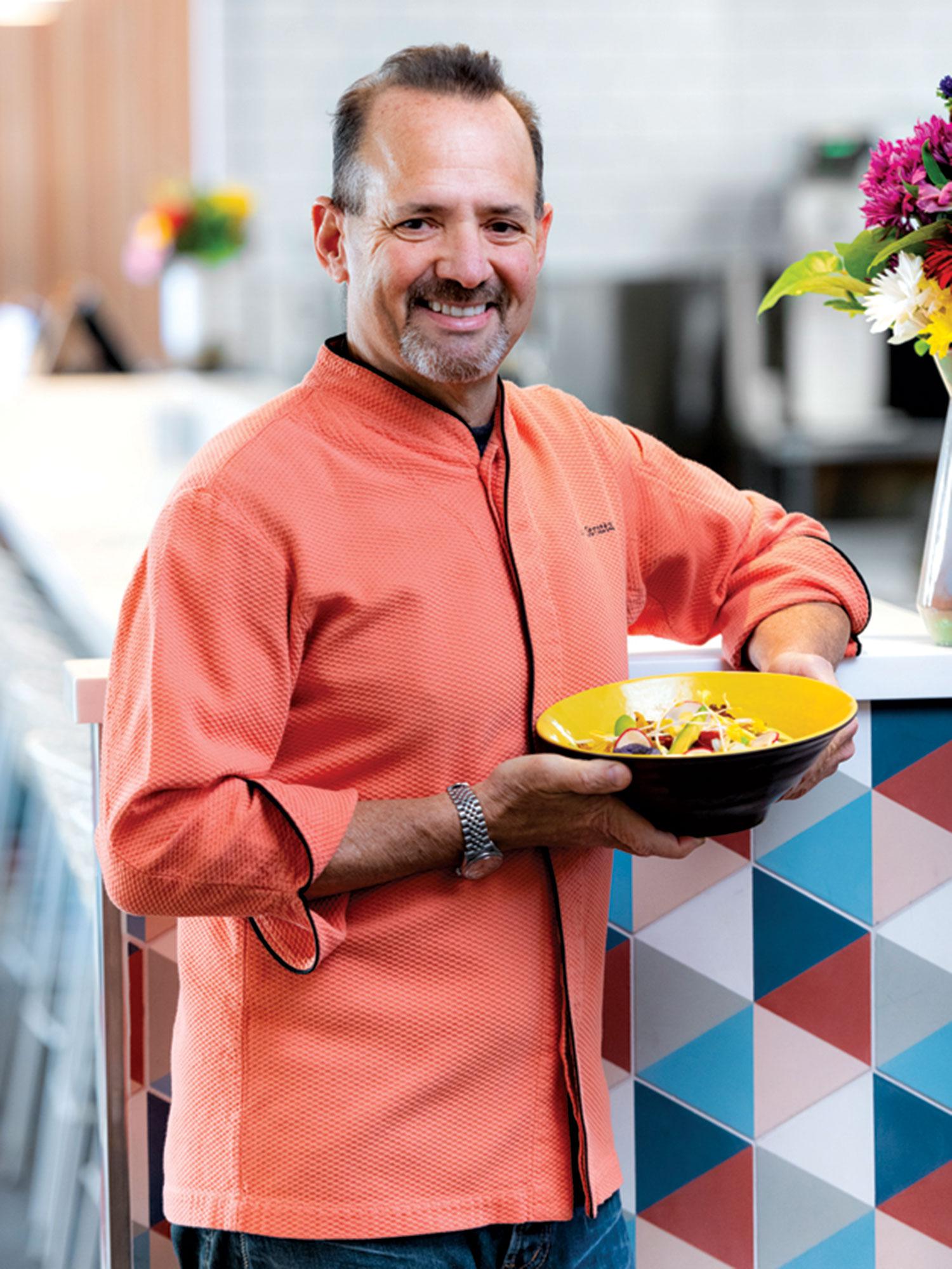 chef Alex Stratta; Photo by Rob Ballard