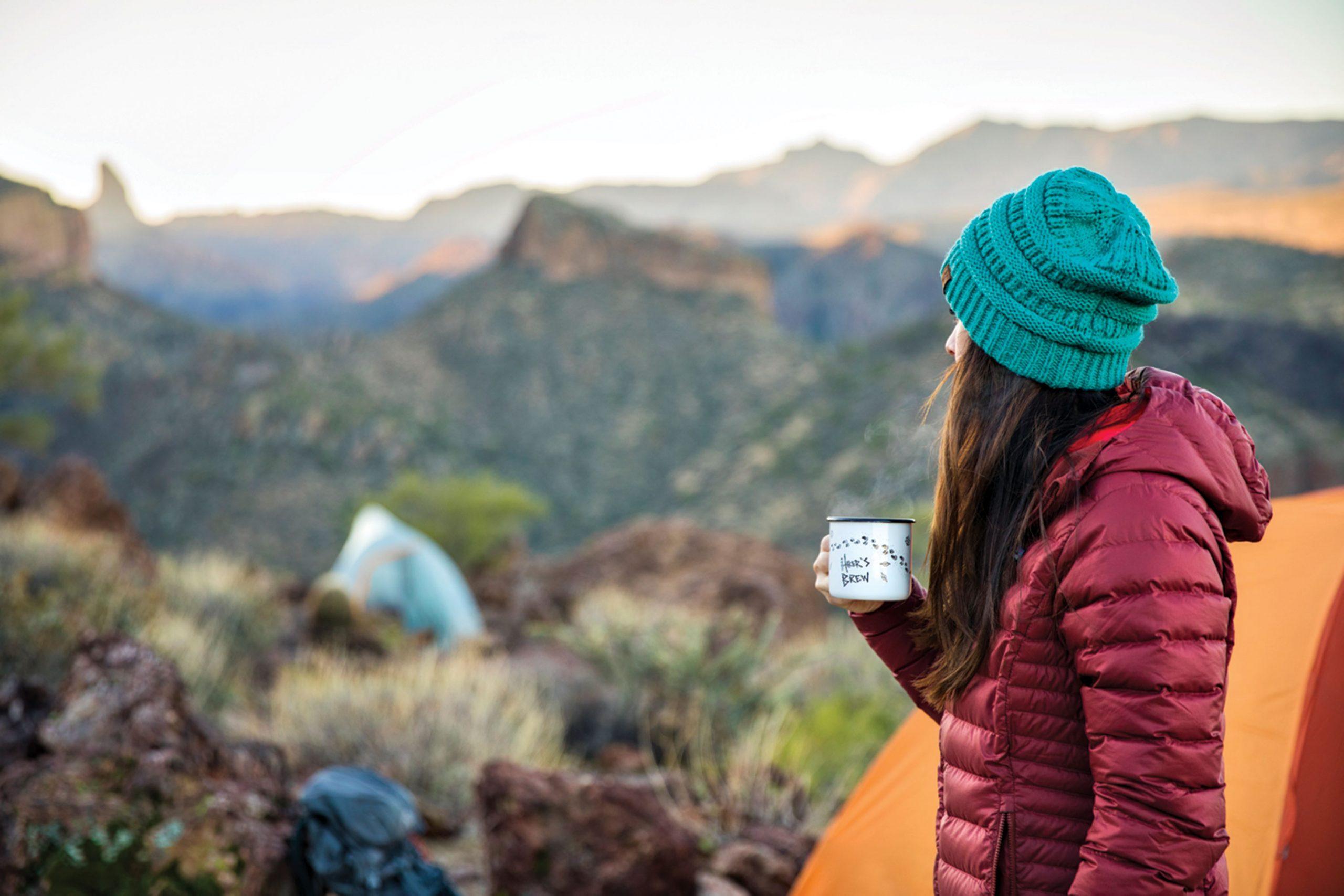 Backpacking at Boulder Canyon Trail; Photo by Kevin Kaminski
