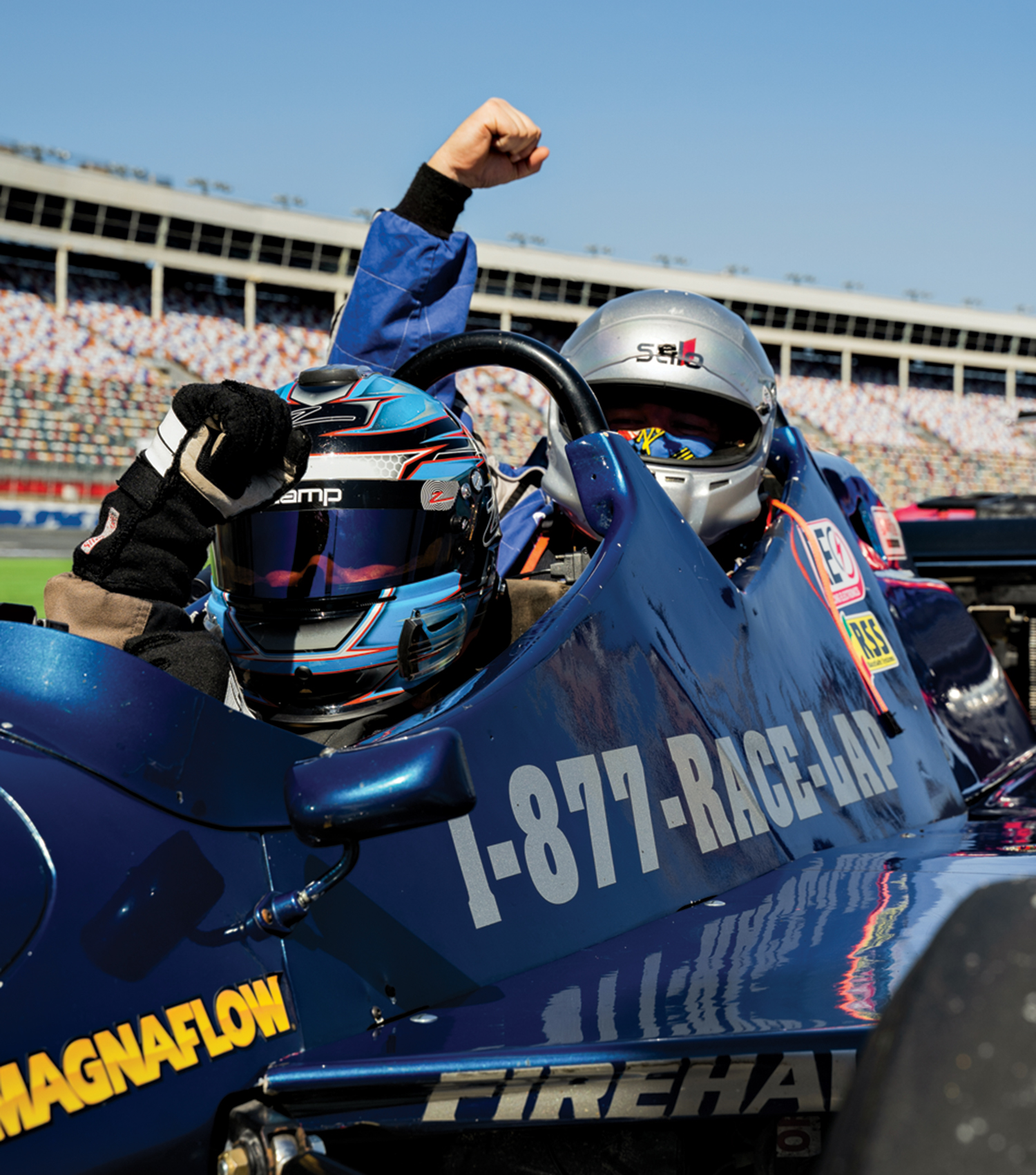 Photo courtesy ISM Raceway