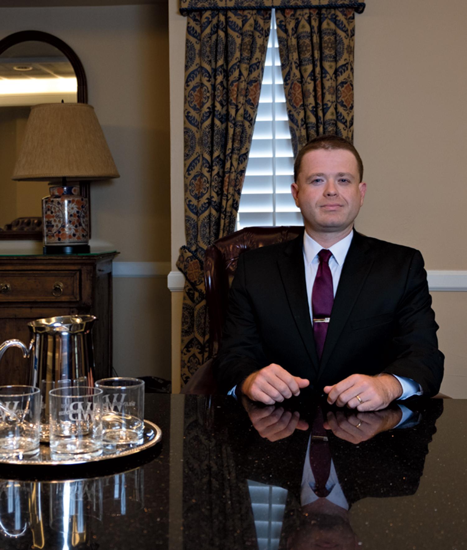 Wilenchik in his Phoenix office; Photo by Mirelle Inglefield