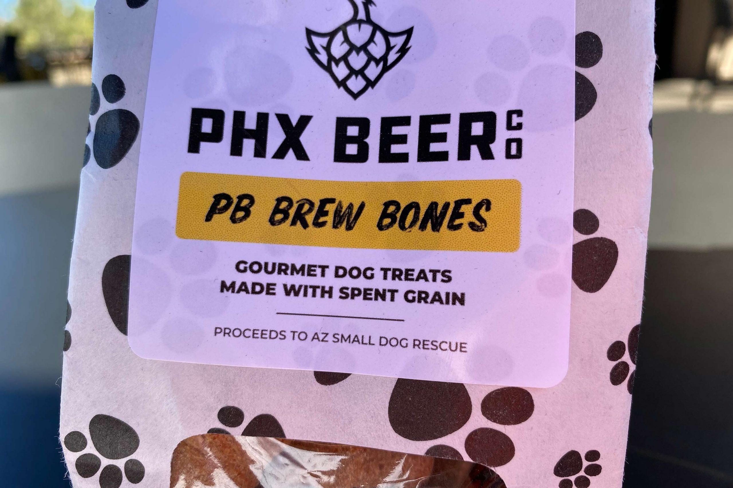 PB Brew Bones made with spent grain.