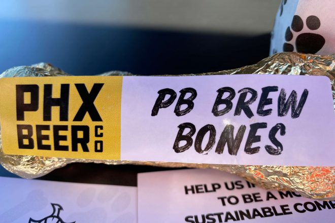 PHX Beer Co. Unleashes New Menu Items for Dogs