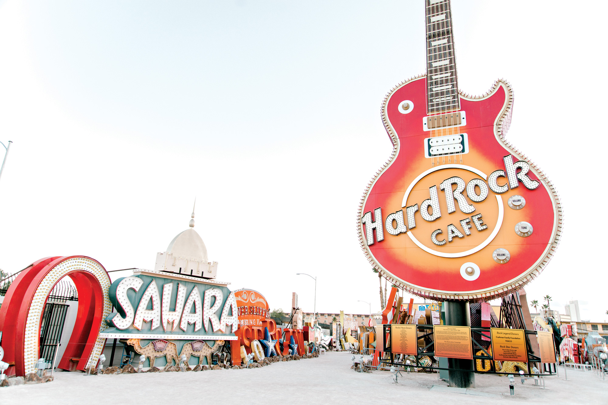 The Neon Museum; Photo courtesy The Neon Museum