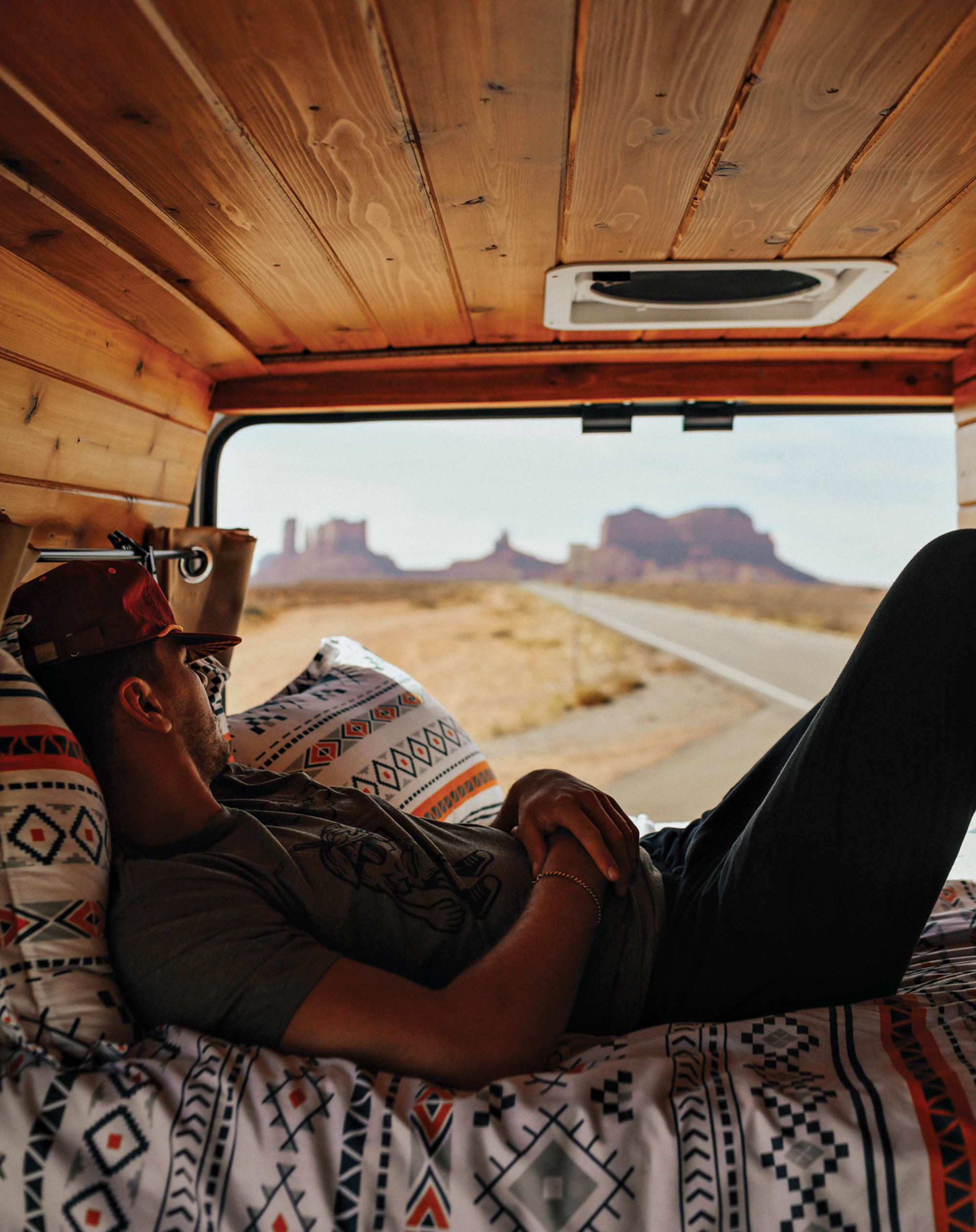 View from a Boho Camper Van; Photo by Shelby Pine/Courtesy Boho Camper Van