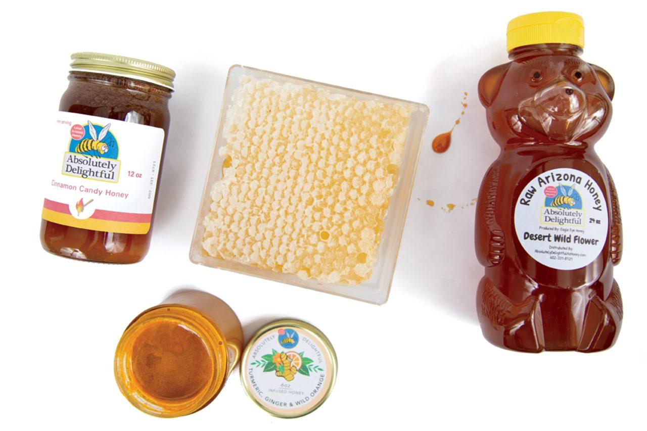 Absolutely Delightful Local Arizona Honey; Photo by Angelina Aragon