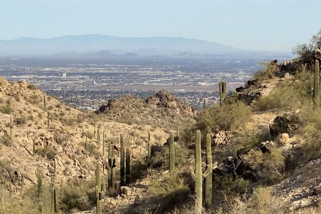 A Hiker's Guide to Kiwanis Trail at South Mountain Park
