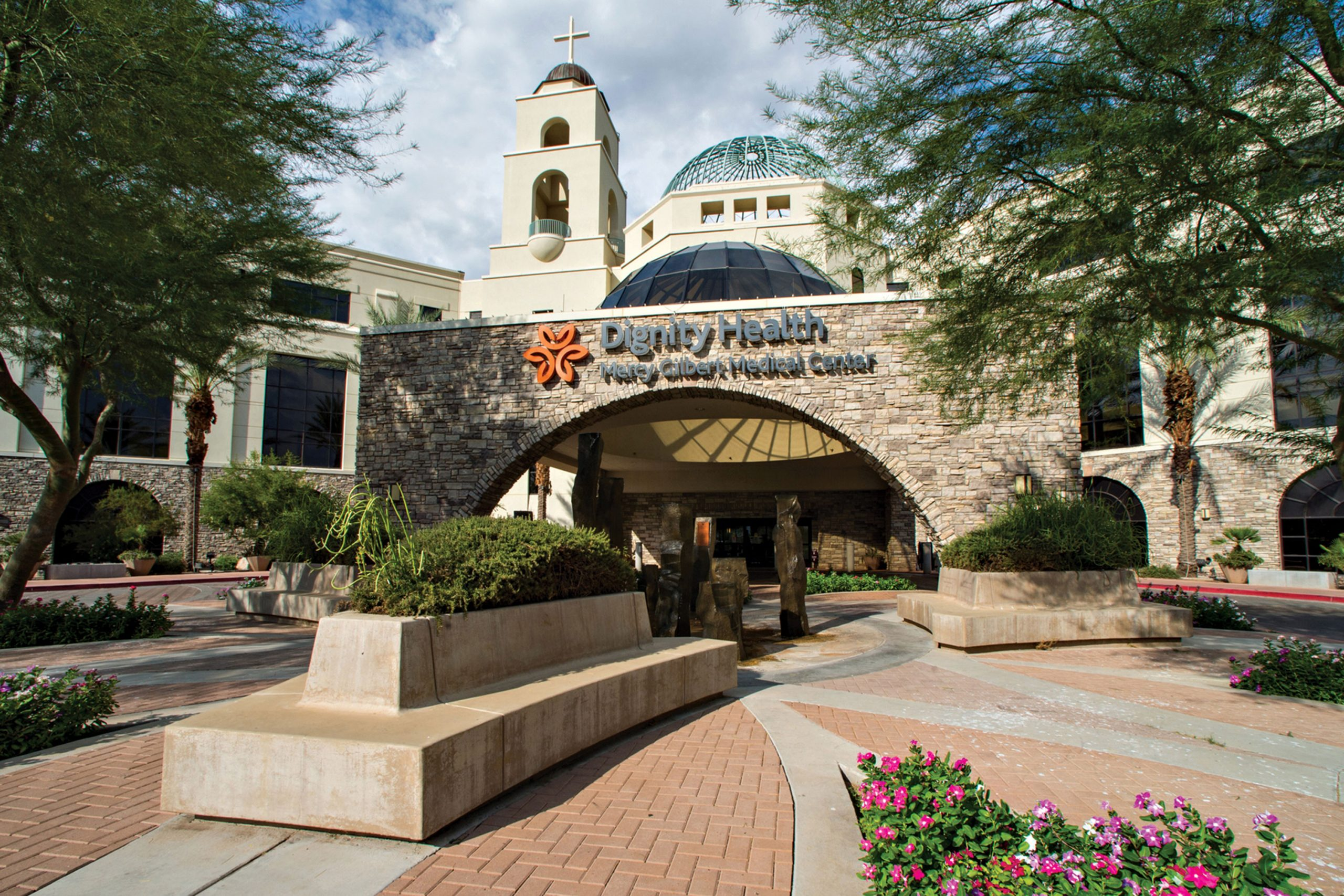 Dignity Health Mercy Gilbert Medical Center; Photo courtesy Banner Health